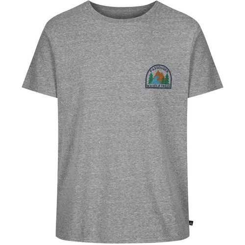 Passenger Clothing Parks and Rec T Shirt - Grey Heather