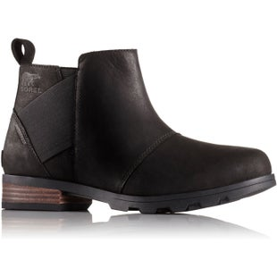 Sorel Emelie Chelsea Ladies Boots - Black Black
