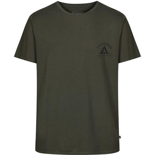 Passenger Clothing Tracks And Trails T Shirt - Forest Green