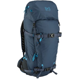 Burton AK Incline 40L Snowboard Backpack - Mood Indigo Ripstop