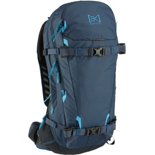 Burton AK Incline 20L Snowboard Backpack - Mood Indigo Ripstop
