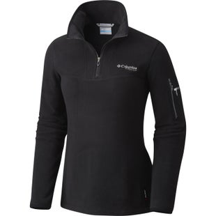 Columbia Titan Pass II 1.0 Half Zip Ladies Fleece - Black