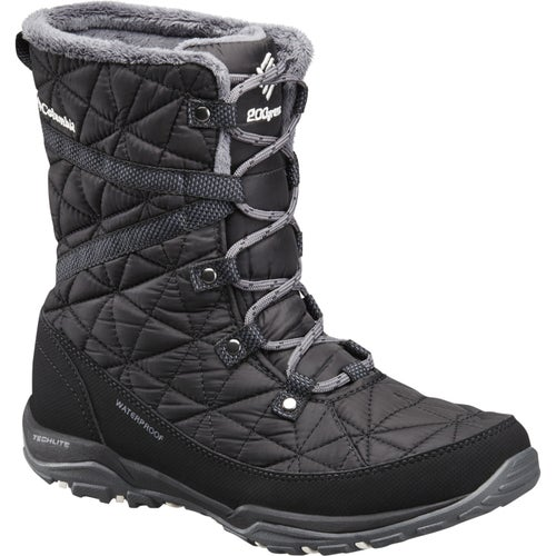 Columbia Loveland Mid OmniHeat Ladies Boots - Black Sea Salt