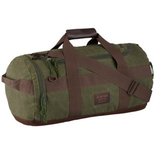 Burton Backhill Small 40L Duffle Bag - Forest Night Waxed Canvas