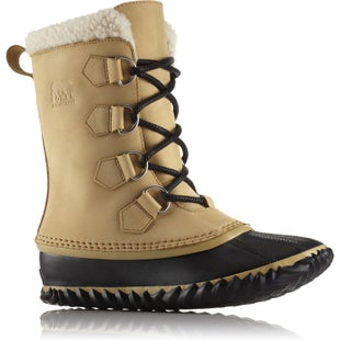 Sorel Caribou Slim Ladies Boots - Curry Black