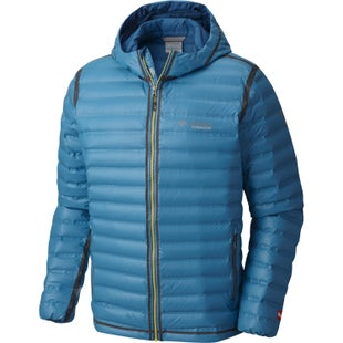 Columbia Outdry Ex Gold Hooded Down Jacket - Phoenix Blue