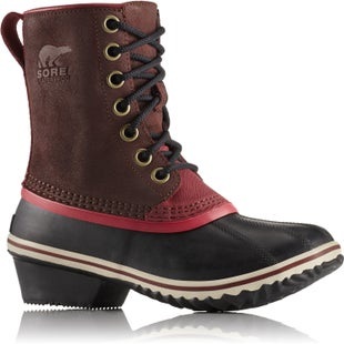 Sorel Slimpack 1964 Ladies Boots - Redwood Candy Apple