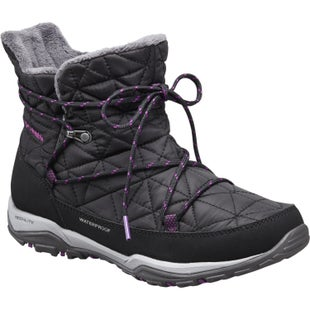 Columbia Loveland Shorty OmniHeat Ladies Boots - Black Bright Plum