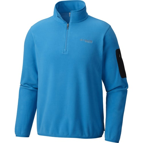 Columbia Titan Pass 1.0 Half Zip Fleece - Dark Compass Phoenix Blue