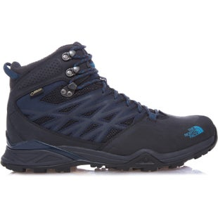 North Face Hedgehog Hike Mid GTX Hiking Shoes - Phantom Grey Boulder Blue