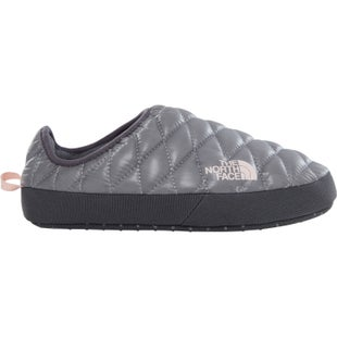 North Face Thermoball Tent Mule IV Ladies Slippers - Shiny Frost Grey Iron Gate Grey