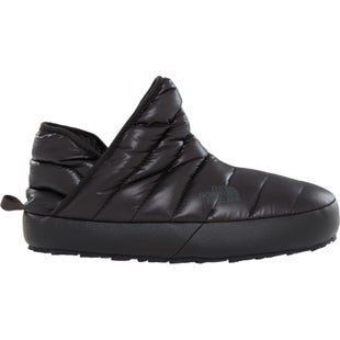 North Face Thermoball Traction Bootie Ladies Slippers - Shiny TNF Black
