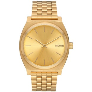 Nixon Time Teller Watch - All Gold Gold