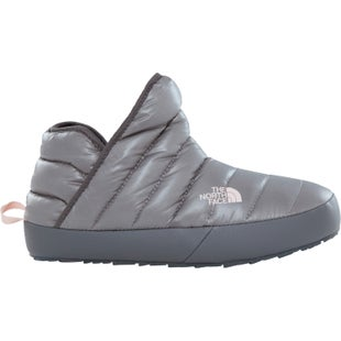 North Face Thermoball Traction Bootie Ladies Slippers - Shiny Frost Grey