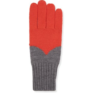 Hunter Original Moustache Gloves - Military Red Grey