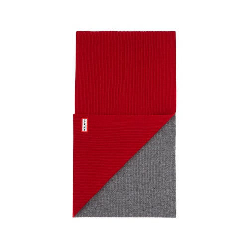 Hunter Original Moustache Scarf - Military Red Grey