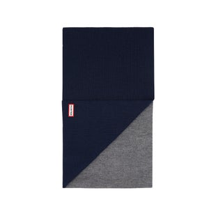 Hunter Original Moustache Scarf - Navy Grey