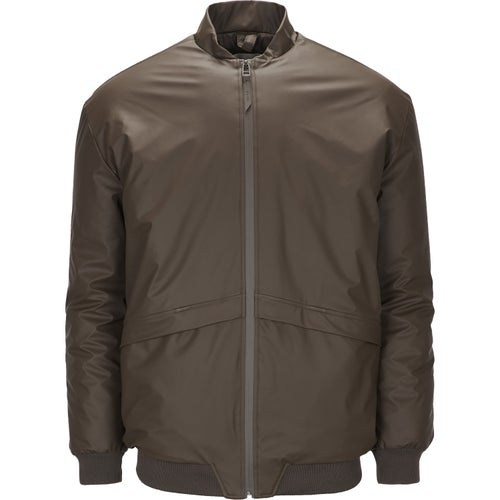 Rains B15 Bomber Jacket - Brown