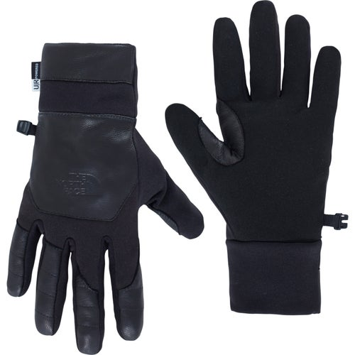 North Face Etip Leather Gloves - TNF Black