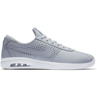 Nike SB Air Max Bruin Vapor Leather Shoes - Wolf Grey Wolf Grey Cool Grey