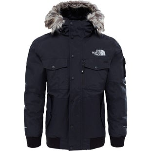 North Face Gotham Down Jacket - TNF Black Hi Rise Grey
