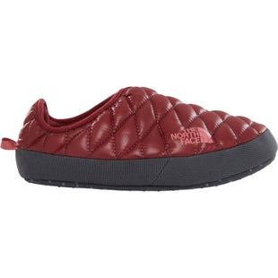 North Face Thermoball Tent Mule IV Ladies Slippers - Shiny Barolo Red Faded Rose
