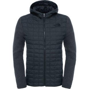 North Face Thermoball Gordon Lyons Hooded Jacket - TNF Black TNF Dark Grey Heather