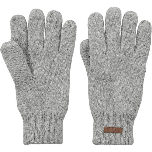 Barts Haakon Gloves - Heather Grey