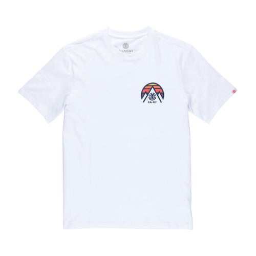 Element Tri Tip T Shirt - Optic White
