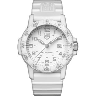 Luminox Leatherback Sea Turtle Giant 0327 Watch - Whiteout Silver Dial