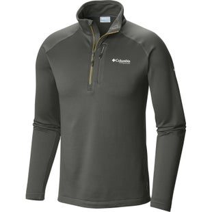 Columbia Northern Ground Half Zip Fleece - Gravel Peppercorn