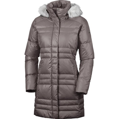 Columbia Mercury Maven IV Mid Ladies Down Jacket - Mineshaft