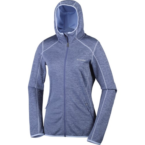 Columbia Sapphire Trail Hooded Ladies Fleece - Bluebell