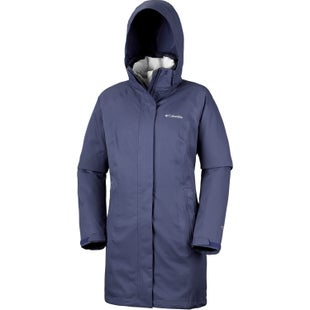 Columbia Salcantay Long Hooded Interchange Ladies Jacket - Nocturnal