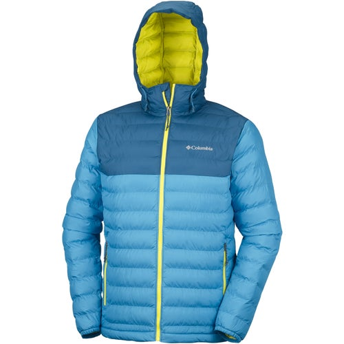 Columbia Powder Lite Hooded Jacket - Dark Compass Phoenix Blue