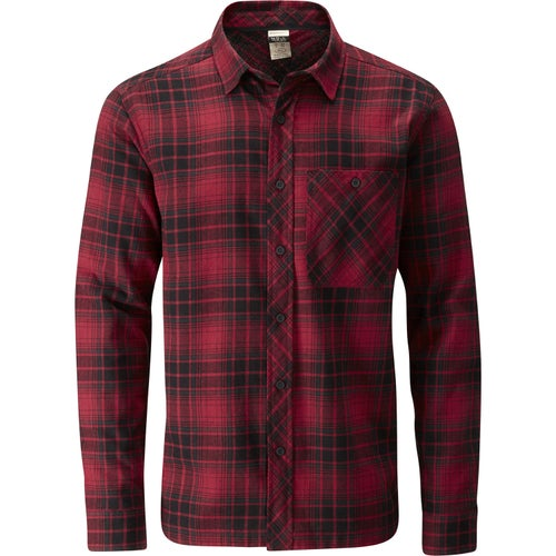 Rab Escape Border Shirt - Autumn Red