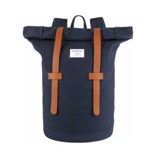 Sandqvist Stig Rolltop Backpack - Blue