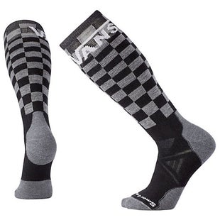 Smartwool PhD Slopestyle Medium Vans Snow Socks - Checkerboard Black