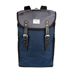 Sandqvist Hans Backpack - Multi Black Blue Grey
