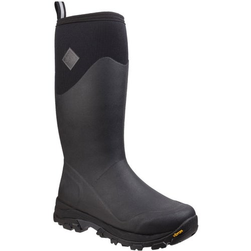 Muck Boots Arctic Grip Tall Wellies - Black
