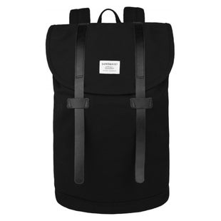 Sandqvist Stig Large Backpack - Black