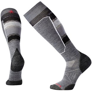 Smartwool PhD Ski Light Elite Snow Socks - Medium Grey