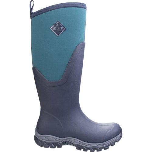 Muck Boots Arctic Sport II Tall Ladies Wellies - Total Eclipse Spruce