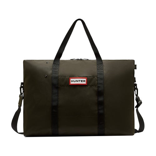 Hunter Original Nylon Weekender Bag - Dark Olive