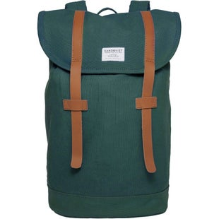 Sandqvist Stig Backpack - Forest Green