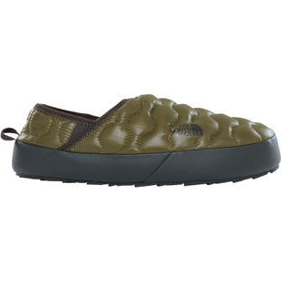 North Face Thermoball Traction Mule IV Slippers - Shiny Burnt Olive