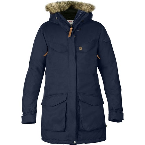 Fjallraven Nuuk Parka Ladies Jacket - Dark Navy
