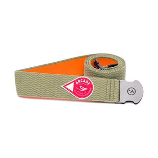 Arcade Belts The Drake Web Belt - Moss Green