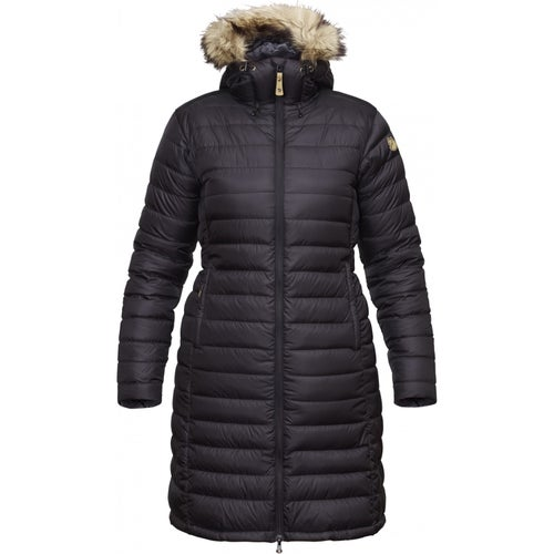 Fjallraven Ovik Down Parka Ladies Jacket - Dark Navy