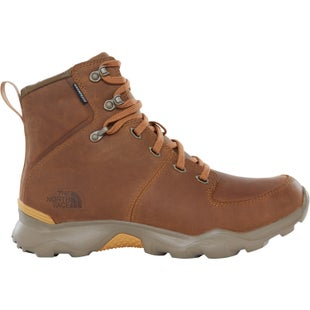 North Face Thermoball Versa Boots - Bone Brown Tinsel Yellow